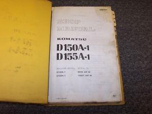 Komatsu D150A-1 D155A-1 Bulldozer Dozer Workshop Shop Service Repair Manual Book