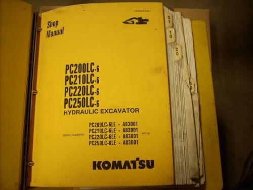 Komatsu Shop Manual PC200LC-6LE, PC210LC-6LE, PC220LC-6LE, PC250LC-6LE