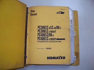 Komatsu PC300 Shop Manual
