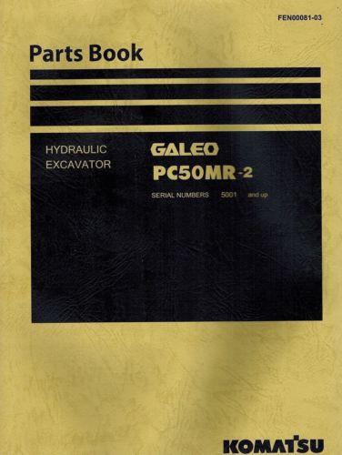 "KOMATSU GALEO PC50MR-2 HYDRAULIC EXCAVATOR  MANUAL ""NEW"" FEN00081-03"