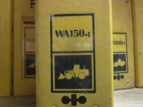 Komatsu WA150-1 Wheel Loader Service Repair Manual