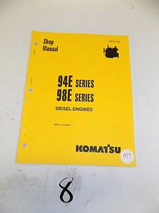 Komatsu Service Diesel Engines 94E 98E Shop Manual  1997