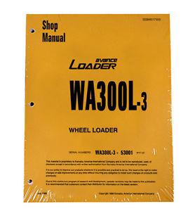 Komatsu WA300L-3 Wheel Loader Service Repair Manual