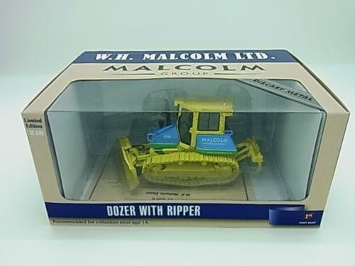 New! Komatsu bulldozer D51 W.H.Malcom Inc. version 1/50 First Gear f/s Japan