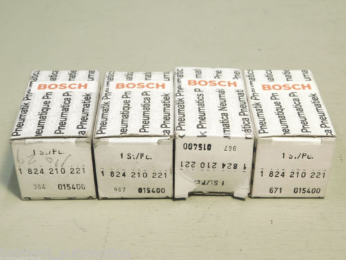 BRAND France Japan NEW - LOT OF 4x PIECES Bosch Rexroth 1 824 210 221 Solenoid Coils