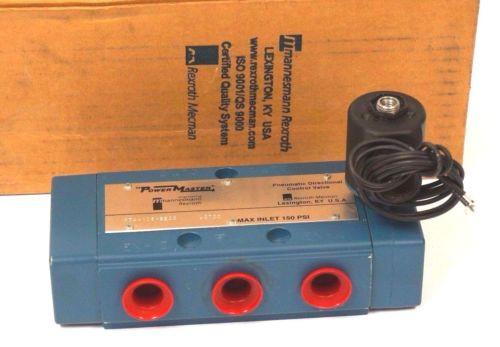 NEW Singapore Greece MANNESMANN REXROTH PT44106-8500 POWERMASTER VALVE