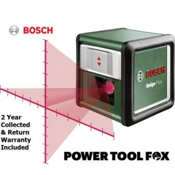 20 ONLY!! Bosch QUIGO Plus Cordless LINE LASER &Tripod 0603663600 3165140836104#