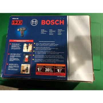 """NEW IN BOX - BOSCH 12V MAX; PS31-2A; 3/8"""" Drill Driver; w/ """"2"""" LITHIUM-ION 2.0Ah"""