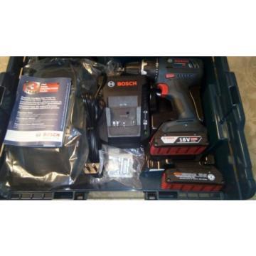 Bosch 18v Li-Ion Combo Drill/Driver Kit w / Bonus AM-FM Radio