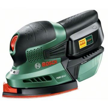8 ONLY Bosch (18v/2.0ah) PSM 18 Li - Cordless Sander 06033A1372 3165140740036 #