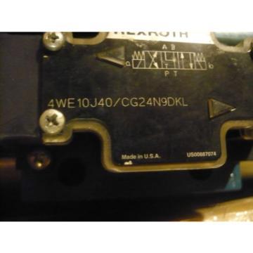 New India Mexico Rexroth 4WE10J40/CG24N9DKL Valve