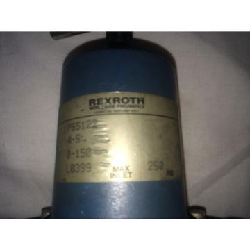 REXROTH Italy Greece P55122 RELAY VALVE MOD: 4S, 0-150, 250PSI