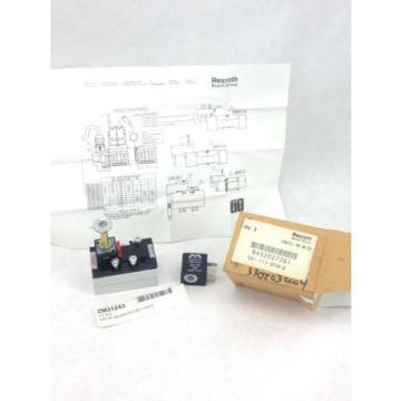 NEW! India Dutch  REXROTH BOSCH 581111010 VALVE R432027261    FAST SHIP!!! (H156)