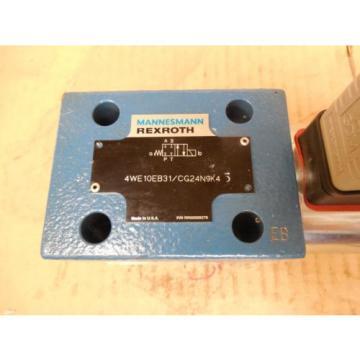 Mannesmann Canada Japan Rexroth Hydraulic Valve 4WE10EB31/CG24N9K4 4WE10EB31CG24N9K4 New