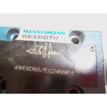 REXROTH Mexico Korea 4WEGD60/EG24N9K4 DIRECTIONAL VALVE *USED*