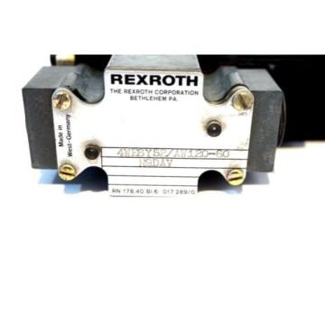 NEW Italy Mexico REXROTH 4WE6Y52/AW120-60 VALVE 4WE6Y52AW12060