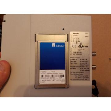 New France Greece w/o box Rexroth Indramat PPC-R02.2 N-N-L2-T2-NN-FW  Controller w/Memory Card
