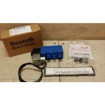 "NOS Egypt Italy Rexroth Solenoid Valve P69883-1 069883-00001 1/2"" 150 PSI 110 V-AC 60 Hz"