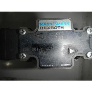 Rexroth Korea china 4WEH10D44/OF6EG D05 Hydraulic Directional Control Valve