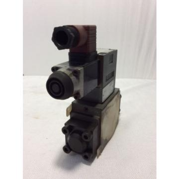 REXROTH Germany Germany HYDRAULIC VALVE 4WE6Y53/AW12060NZ45 WITH Z4WEH10E63-40/6A120-60NTZ45