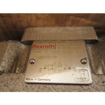 Bosch Germany Korea Directional Control Linear Valve 4WRH10W50-7X NSN: 4820012347073