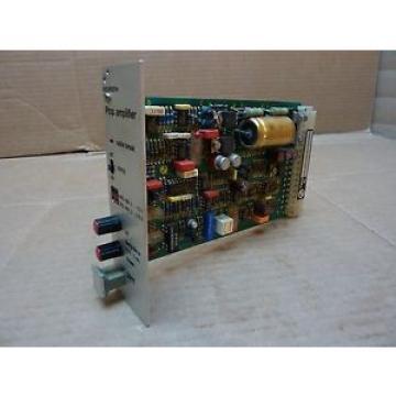 Rexroth Australia Australia Proportional Amplifier Board VT5011 S30 R1 Used #24647