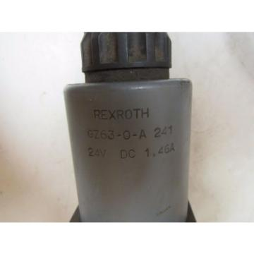 REXROTH China India HYDRAULIC VALVE 4WE10J32/CG24N9AV 4WE10J32CG24N9AV GZ63-0-A 241 24V DC