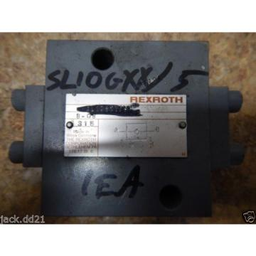 NEW Korea Canada Rexroth SL10G12/5 Hydraulic Pilot Operated Check Valve NEW        NEW