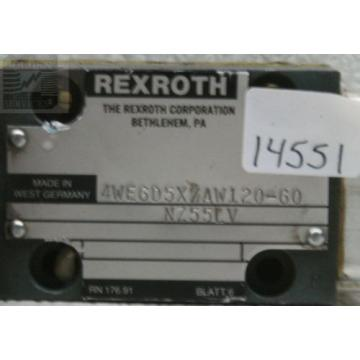 Rexroth Australia Greece 4WE6D5X/AW120-60 Linear Directional Control Valve