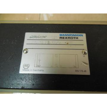 Rexroth Greece Dutch Mannesmann Manifold Solenoid Block Valve Z1S 10 P2-32/V New