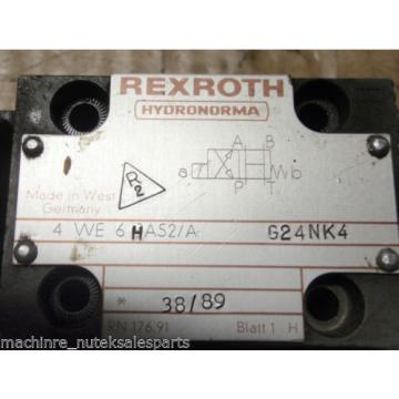 Rexroth Mexico Russia Solenoid Oper. Valve 4WE6HA52/AG24NK4  GU35-4-A-339 4WE6HA