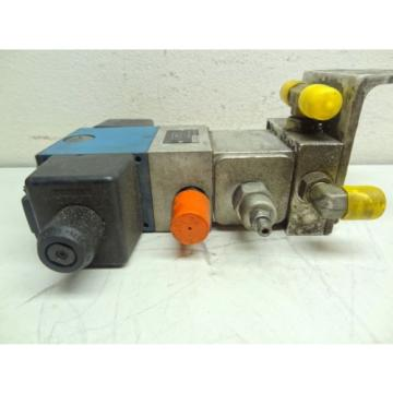 MANNESMANN Canada Greece REXROTH 4WE10J31/CW110N9/45 DIRECTIONAL SOLENOID VALVE