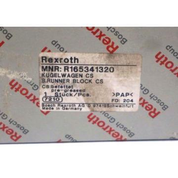 NEW France USA REXROTH R165341320 RUNNER BLOCK