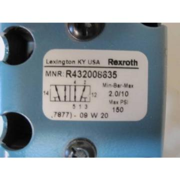 REXROTH Canada Germany CERAM VALVE DOUBLE SOLENOID R432008635 7877 0E53HJDDCCP