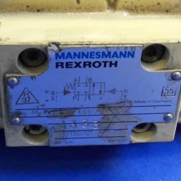 MANNESMANN Greece USA REXROTH 250V 5A HYDRAULIC SOLENOID VALVE, H-4WH 25 E61//41 SO12