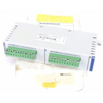 NEW Germany Dutch REXROTH INDRAMAT RMA02.2-16DC024-200 OUTPUT MODULE 24VDC, 2AMP