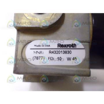 REXROTH Russia Japan R432013830 *NEW NO BOX*