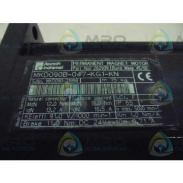 REXROTH Italy Korea INDRAMAT MKD090B-047-KG1-KN *NEW IN BOX*