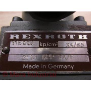Rexroth Mexico Mexico 2LNF 6PP 2A/B Control Valve - New No Box