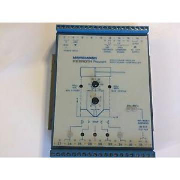 Rexroth-5460190010 Canada Italy Positioner Controller 09-96 24V Power Input