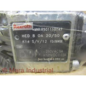 Rexroth India china Bosch R901110147 Valve HED 8 OA 20/50 K14 S/V/12