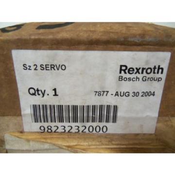 REXROTH Korea Italy 9 823 232 000 *NEW IN BOX*