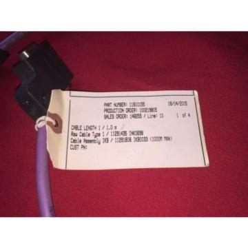 Rexroth Singapore Japan indramat cable ink0698 Cable assembly IKB0033 NEW