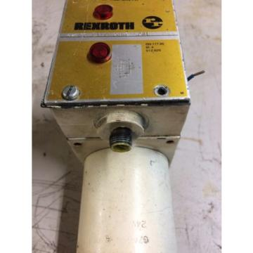 REXROTH Canada Egypt VALVE 4WE10E31/CG24N9DK24L USE AND REMOVED WORKING