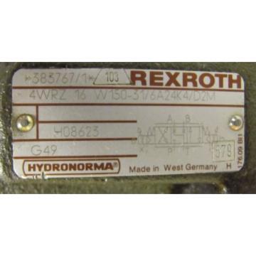 REXROTH Australia Dutch 4WRZ 16 W150-31/6A24K4/D2M ZDR 6 DP2-40/75-50YM 3DREP 6 C11 VALVE