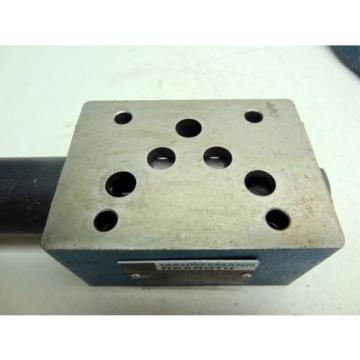 REXROTH Mexico Canada ZDR10DP1-54/210YM/12 HIGH PRESSURE REDUCING VALVE P/N: RR006808