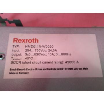 Busch China china Rexroth Indradrive HMD01.1N-W0020-A-07-NNNN HMD01.1N-W0020 R911305062
