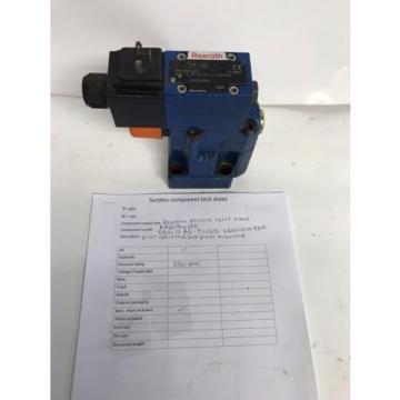 Rexroth Russia Egypt pressure relief valve R900906350