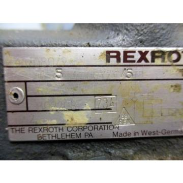 REXROTH Italy Germany DR10/542/100Y/V/5 PILOT OPERATED PRESSURE REDUCING VALVE