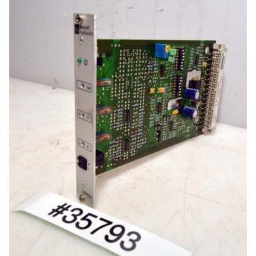Rexroth Australia Russia Amplifier Card VT-VSPA1-1-11-B (Inv.35793)